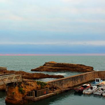 Biarritz, ein schicker aber recht teurer Ort an der französischen Atlantikküste