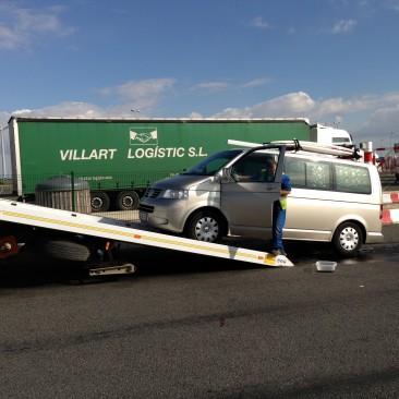 Abschleppen auf französischen Autobahnen kostet ca. 150 Euro