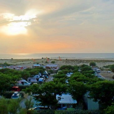 Campingplatz Le Saint Martin direkt am Strand von Moliets