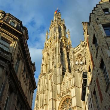 Die Liebfrauenkathedrale in Antwerpen, seit 1999 Weltkulturerbe