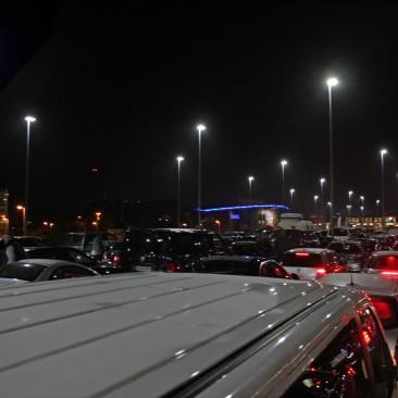 Eine Rangierunfall sorgte im Oktober 2014 für Wartezeiten von mehr als fünf Stunden beim Sylt Shuttle