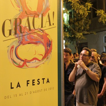 Im August findet ein riesiges Straßenfest statt