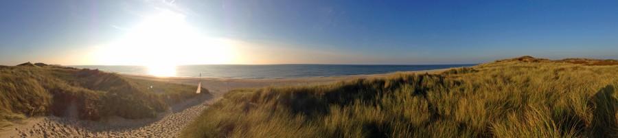 Strandabschnitt bei Kampen auf Sylt