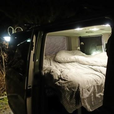 Nachts wirds muckelig