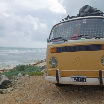 Argentinier auf Bulli-Tour