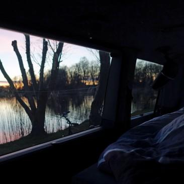 Sonnenuntergang in erster Reihe... hach