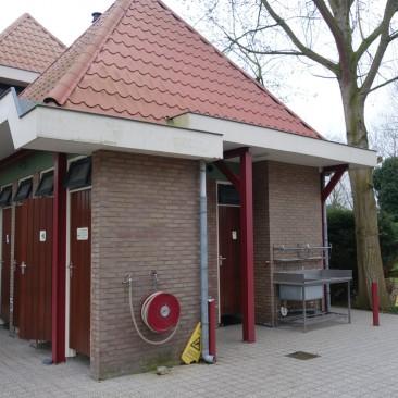 Sanitäranlagen Het Rietveen, einfach aber sauber
