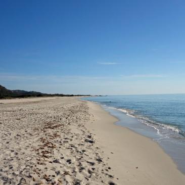Spiaggia Berchida, einer der schützenswertesten Strände Italiens