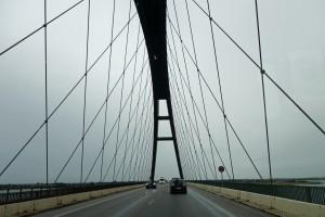 Die Fehmarnsundbrücke - Der Kleiderbügel