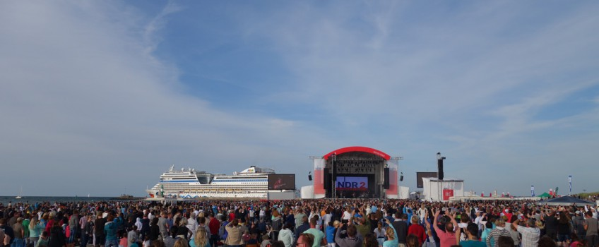 N-JOY The Beach / stars@ndr2 in Warnemünde