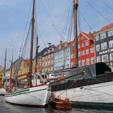 Der Nyhavn ist wohl die wichtigste Touri-Attraktion in Kopenhagen