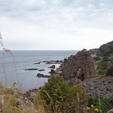Eine beeindruckende Fels-Landschaft in Hovs Hallar