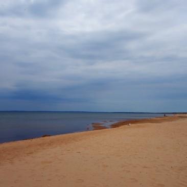 Schön weicher Sand in Mellbystrand
