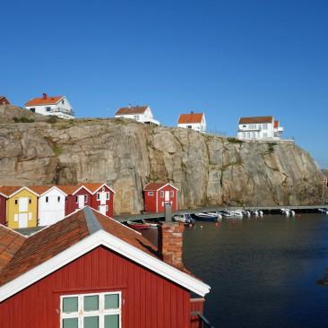 Die Stadt sieht aus wie im Schweden-Bilderbuch
