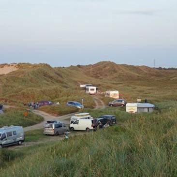Dünencampingplatz in Hvide Sande