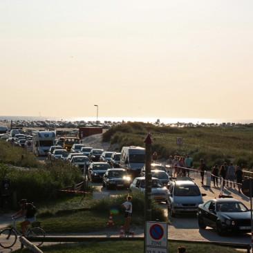Strandflucht - Nachtparken beim Kitesurf World Cup war mal