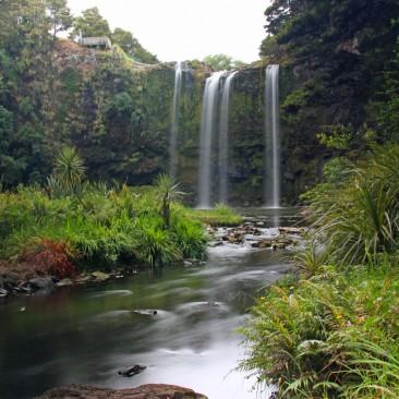 Die Whangarei Falls Wasserfälle