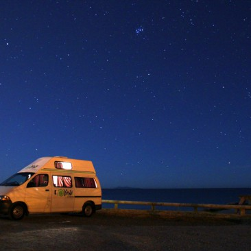 Stellplatz nahe dem Papamoa Beach Resort bei Tauranga