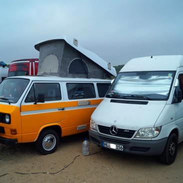 Aire du Camping in Capbreton
