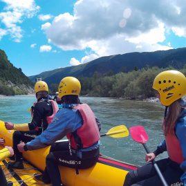Kurze Einführung, langer Spaß. Mega Erlebnis die Rafting-Tour