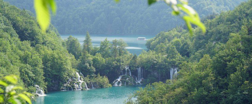 Slowenien und Kroatien im Frühling